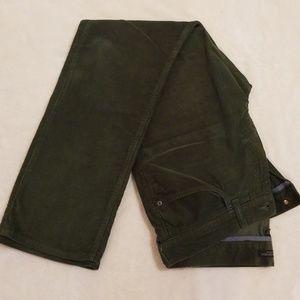 Banana Republic mens green corduroy pants